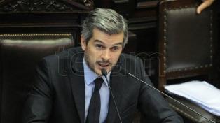 """Marcos Peña: """"Argentina tiene que decidir si cambia para siempre"""""""