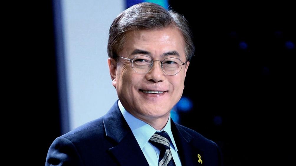 Moon Jae-In, presidente de la República de Corea del Sur desde mayo de 2017