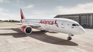 Avianca Argentina inició sus vuelos regulares a Mar del Plata