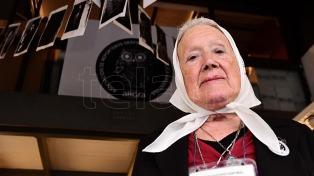 Nora Cortiñas pidió la renuncia de Avruj y de los tres jueces que votaron el 2X1