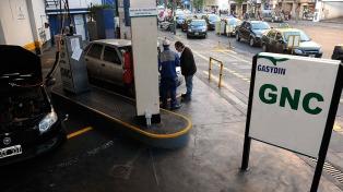 Aseguran que no aumentará antes de octubre el GNC para automotores