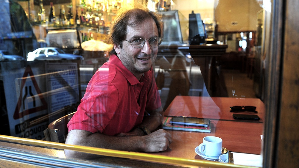 """Kohan, también autor de """"Ciencias morales"""" y """"Los cautivos""""."""