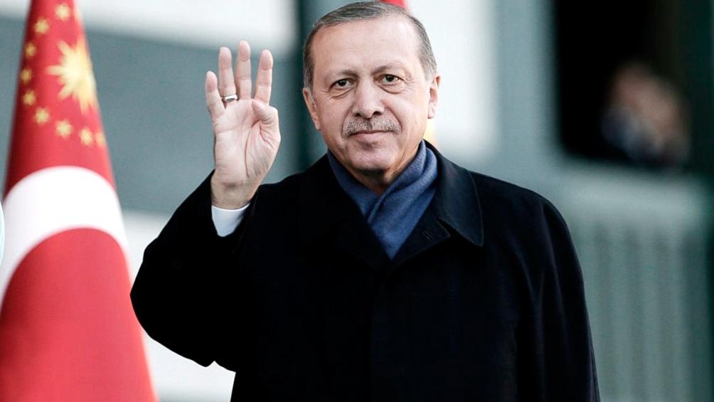 Recep Tayyip Erdogan, presidente de la República de Turquía desde agosto de 2014