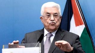 Abbas advierte que cortará relaciones con EEUU e Israel
