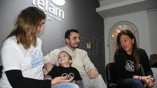 Un niño cordobés es el único caso en la Argentina de la enfermedad de Dent