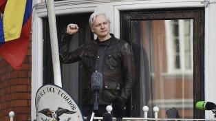 Apoyo a Assange ante su posible expulsión de la embajada ecuatoriana