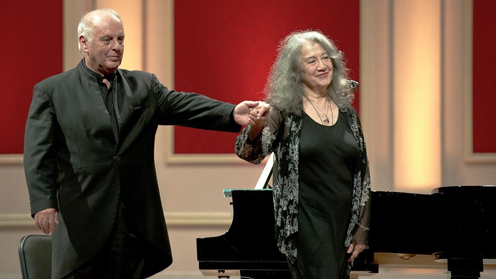 Con Daniel Barenboim brindaron conciertos inolvidables.