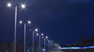 El cambio de luminarias permitió ahorrar unos 4 millones de dólares en 2017