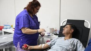 Independiente y Banfield reciben a donantes de sangre