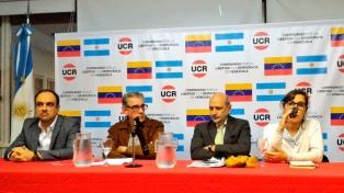 El radicalismo ratificó su compromiso con la libertad y la democracia en Venezuela
