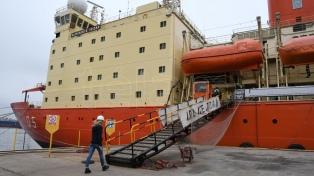 """Tandanor, el astillero estatal que reconstruyó el rompehielos antártico """"Almirante Irízar"""""""