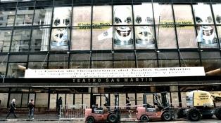 El teatro San Martín mostró sus renovadas instalaciones a la prensa