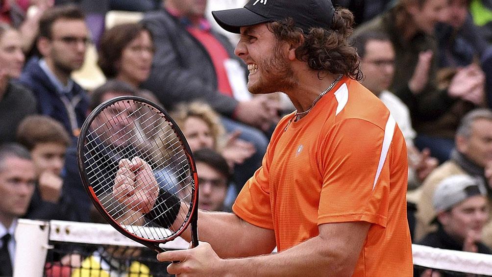 Marco Trungelliti se fue rápido de Wimbledon (foto archivo).