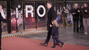 Macri asistió a la gala de reinauguración del Teatro San Martín