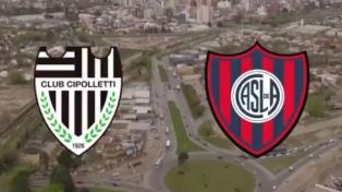 Cipoletti desafió a San Lorenzo en un video publicado en Twitter