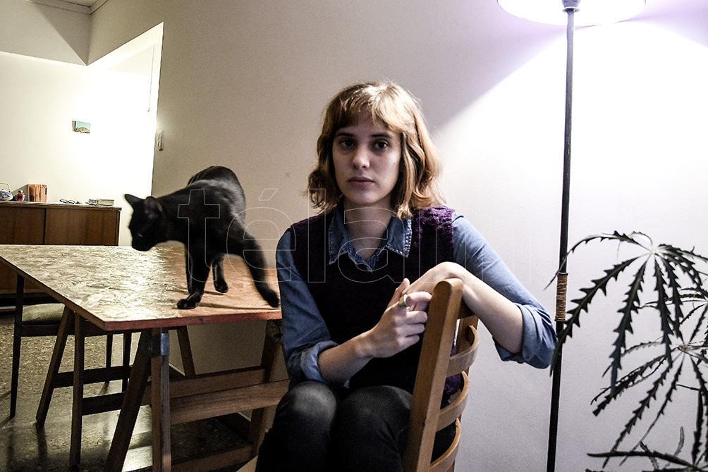 """""""Nadie sabe lo que hace"""" es el texto que presentó Fabbri. Nació en un taller por zoom que hace con la escritora y periodista Leila Guerriero."""
