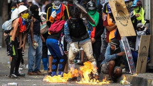 """El """"Comité de Víctimas de las Guarimbas"""" cree en el diálogo tras la medida tomada hacia López"""