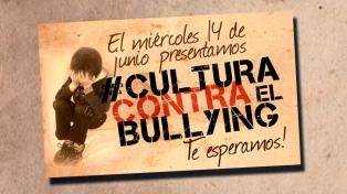 Presentan una campaña integral para prevenir el bullying en las escuelas