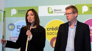 Vidal anunció planes de descuento con tarjetas Bapro y líneas de créditos