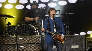 El recital de Paul McCartney será iluminado con energía de aceite vegetal