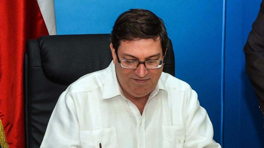 El canciller cubano Bruno Rodríguez, denunció que el Gobierno de Estados Unidos