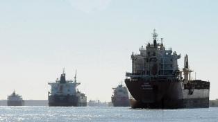 Tras el paro, decenas de barcos ingresan a los puertos de Rosario y Bahía Blanca
