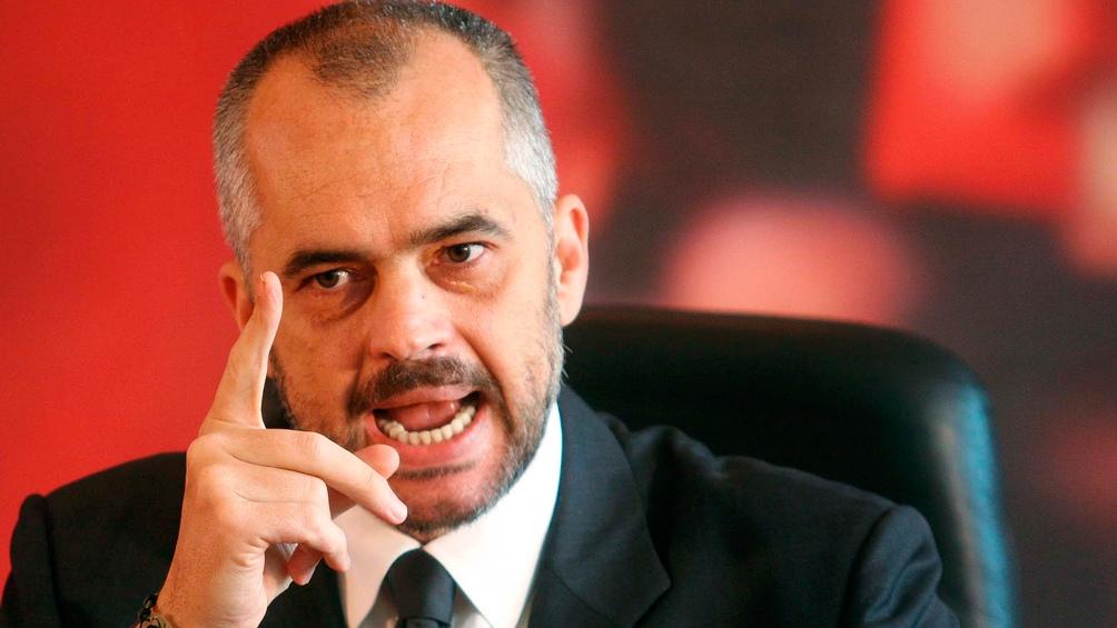 Edi Rama, el primer ministro albanés busca un nuevo mandato