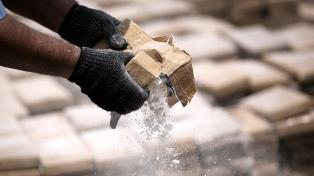 Crece la incautación de cocaína en Centroamérica, según un informe