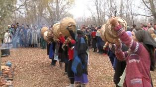 Los mapuches celebran el inicio de un nuevo ciclo de vida