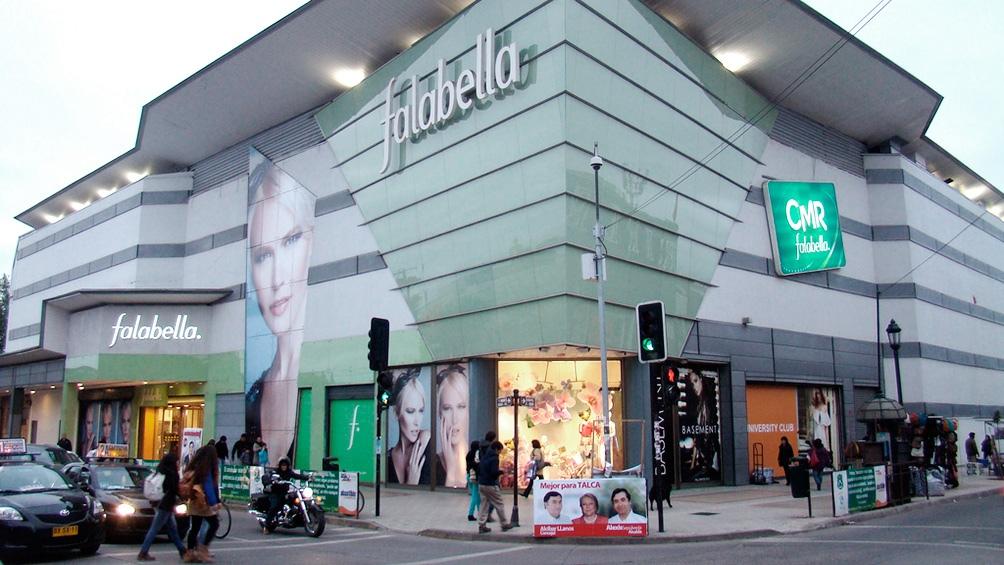 La tienda de Falabella en el centro porteño.