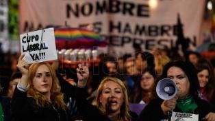 Presentaron un proyecto de ley para otorgar una pensión reparatoria a personas travestis y trans