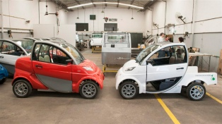 Lanzan a la venta el primer auto eléctrico de fabricación nacional