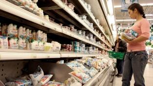 La cadena láctea tuvo un resultado positivo por primera vez en 15 meses