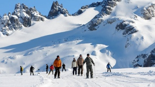Los centros de esquí tuvieron la mejor temporada en una década