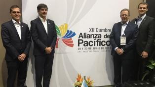 Argentina participó en Colombia del Consejo de Estados Observadores de la Alianza del Pacífico