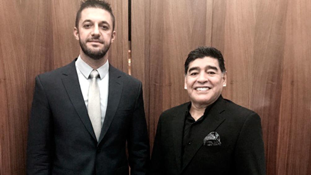 Trimarchi (44) es empleado del abogado Matías Morla y su función era ser un chofer a disposición de Maradona.