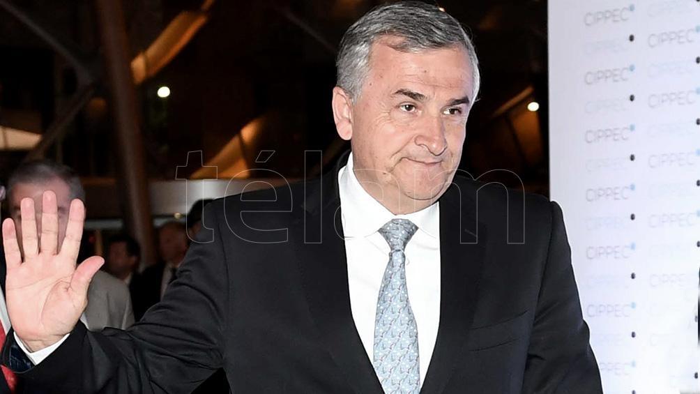 El gobernador de Jujuy declaró que no apoyaría a Macri en una próxima elección y se postuló como candidato.