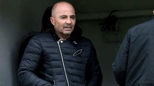 Sampaoli se reunió con Romero y Rojo en Manchester