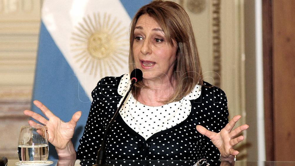Fernández explicó que Alejandra Gils Carbó renunció porque la persiguieron y amenazaron a sus hijas.