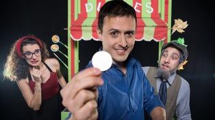 Puestas de clown, teatro ciego, circo y magia para los chicos