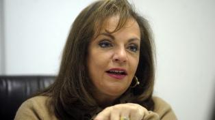 Nilda Garré fue designada al frente del Instituto Manuel Belgrano