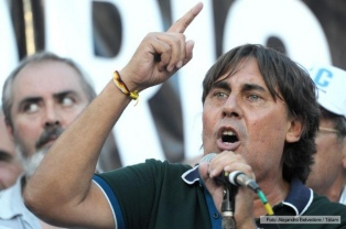 Micheli denunció que habrá fraude en los comicios de ATE por la intromisión del gobierno
