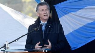 """Macri: """"En esta elección se discute si el cambio que inició la mayoría debe continuar"""""""
