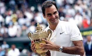Federer, un grande entre los grandes