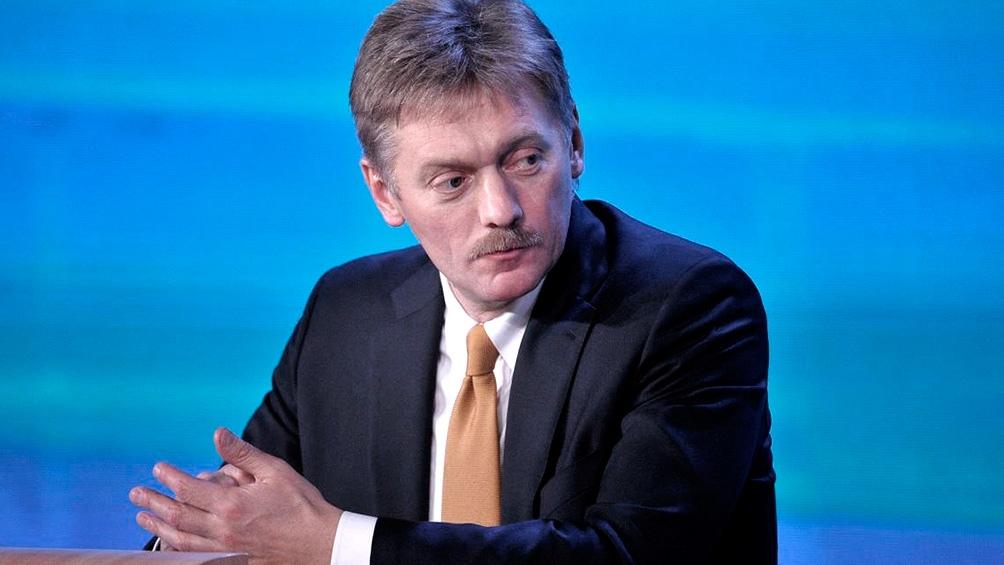 El vocero del Kremlin, Dmitri Peskov, instó Macron y Merkel a que le pidan a Zelenski el fin de las provocaciones.