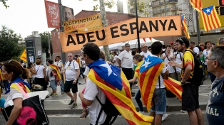 """""""Exigimos la restitución del gobierno legítimo"""", dijo un líder independentista"""