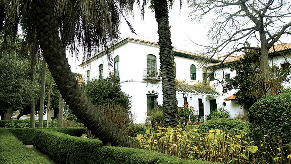 Los jardines del Museo Larreta, uno de los escenarios de las actividades.
