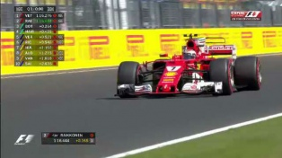 Vettel fue el más veloz en Hungaroring, con las Ferrari intratables