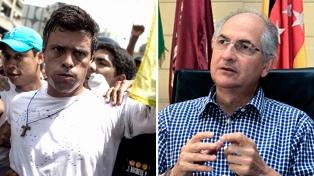 Los opositores Leopoldo López y Antonio Ledezma fueron llevados a una cárcel militar