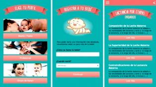 Una app ayuda a acompañar la lactancia materna